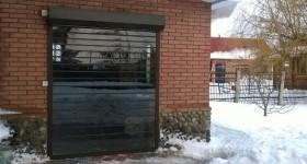 Светопрозрачные рольставни из поликарбоната в Тольятти - зона барбекю коттеджа